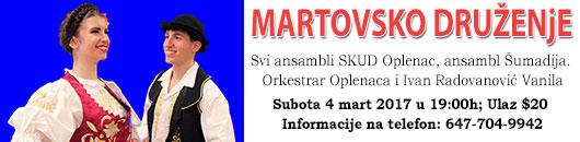 Martovska Zabava 2017