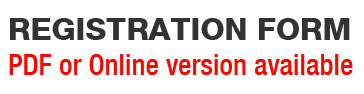 REGISTRATION FORM PDF or Online version available